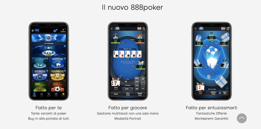 888poker poker mobile