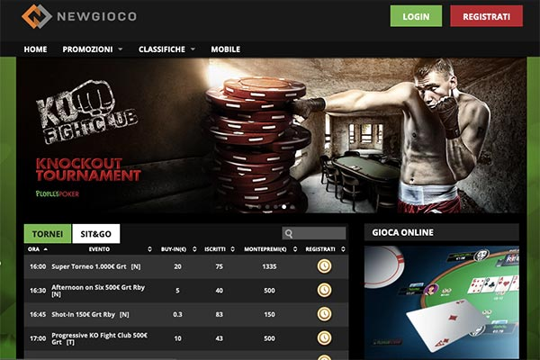 newgioco poker