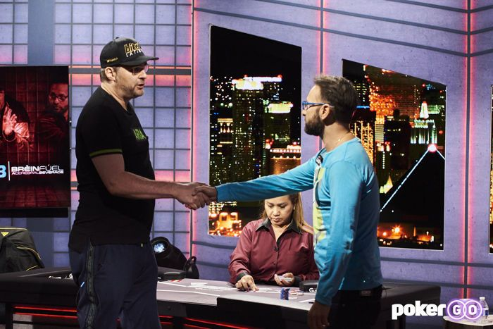 Phil HEllmuth Daniel Negreanu High Stakes Duel finale