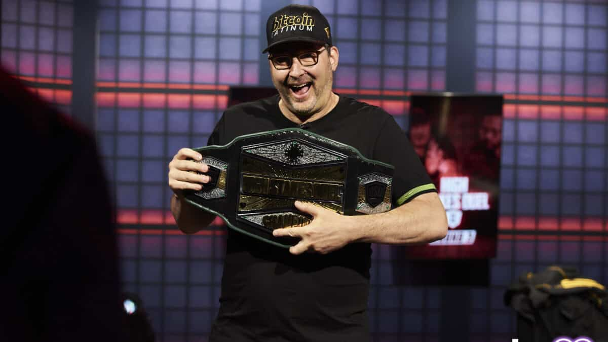 Phil Hellmuth High Stakes Duel